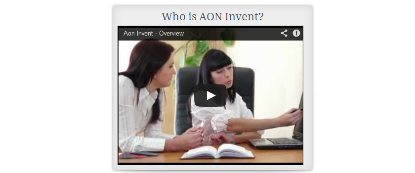 who is AON Invent?